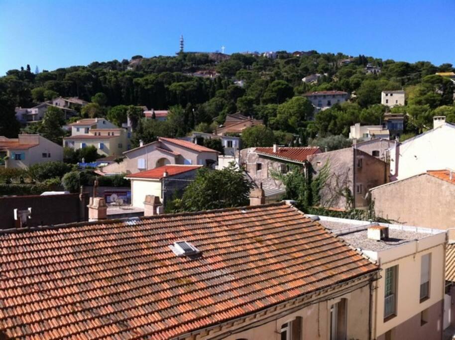 vue sur saint - clair de la terrasse