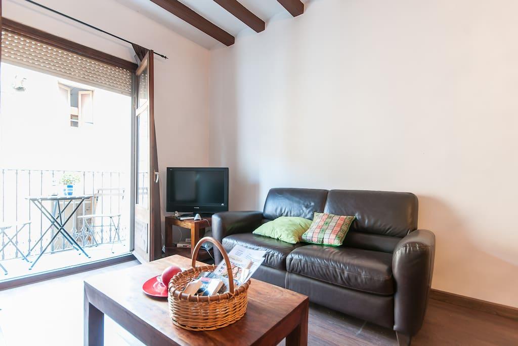 Cool 3 Bed Las Ramblas Apartment