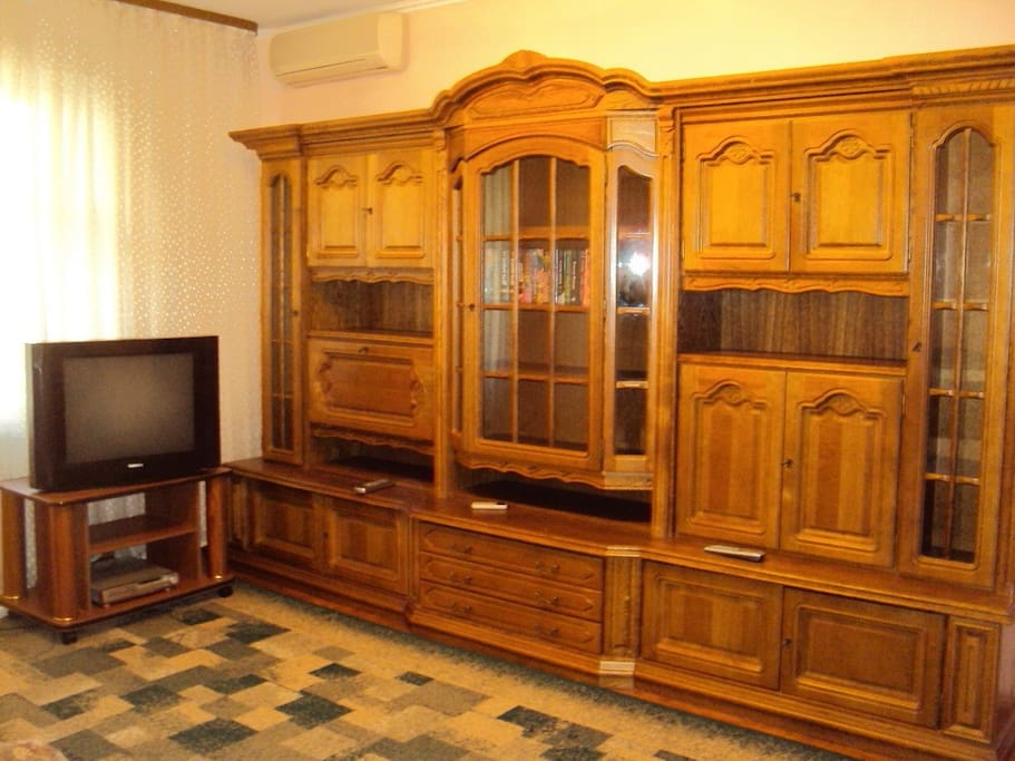 Comfortable three-room apartment