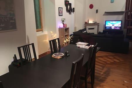 Chambre 2 personnes dans un appartement - La Voulte-sur-Rhône - Leilighet