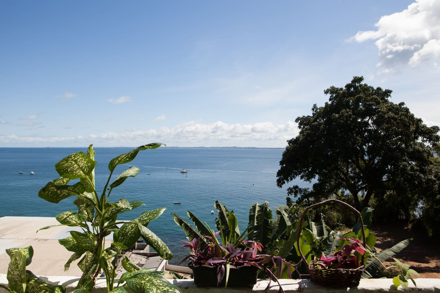 that's private luxury: view from the veranda