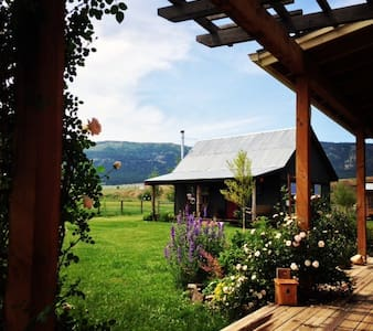 Little Nell Ranch Farmstay Lostine - Lostine - Cabane
