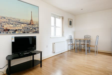 Modern spacious 1 Bed room flat - Radcliffe - Pis