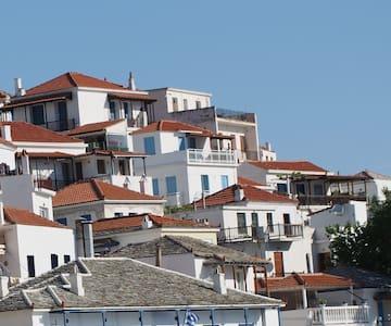 Harbour View, Skopelos Town - Haus