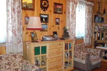 Комната в уютном домике для спокойного отдыха - Brahin - Haus