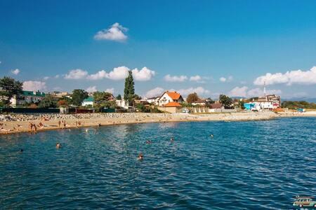 Уютный дом для отдыха на море - Myskhako