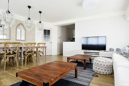 2bedroom&2Bathroom for max 13ppl - Appartement