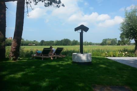 Knokke le Zoutte/cottage avec vue sur les polders - Knokke-Heist