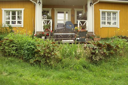 Real country house,15 minits to sport city Lahti. - House