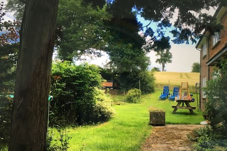 South Downs Way walkers retreat - House