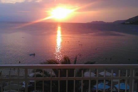 Touch the sea#loutraki's sunset!!! - Loutraki