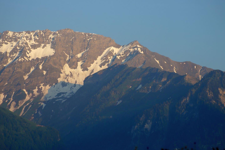 Kleinstadt-Flair mit Alpenblick