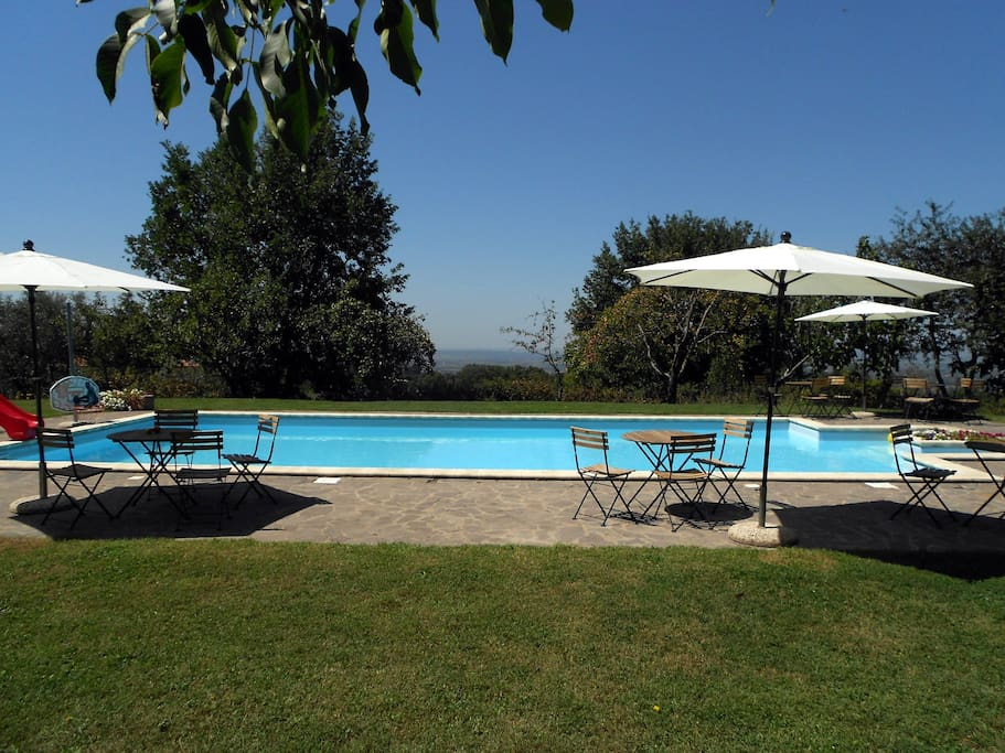B&B with pool 2 Km far from Viterbo