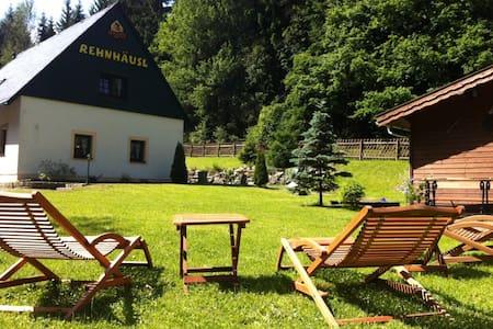 Idyllic mountain holiday house - Altenberg OT Fürstenwalde - Talo