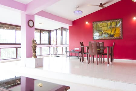Goa rains from a complex TOP house!