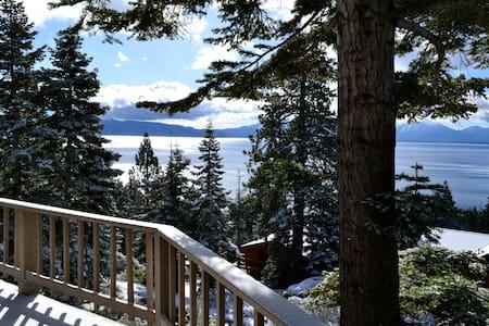 Meeks Bay Cabin + Panoramic Views   - Tahoma - Kabin