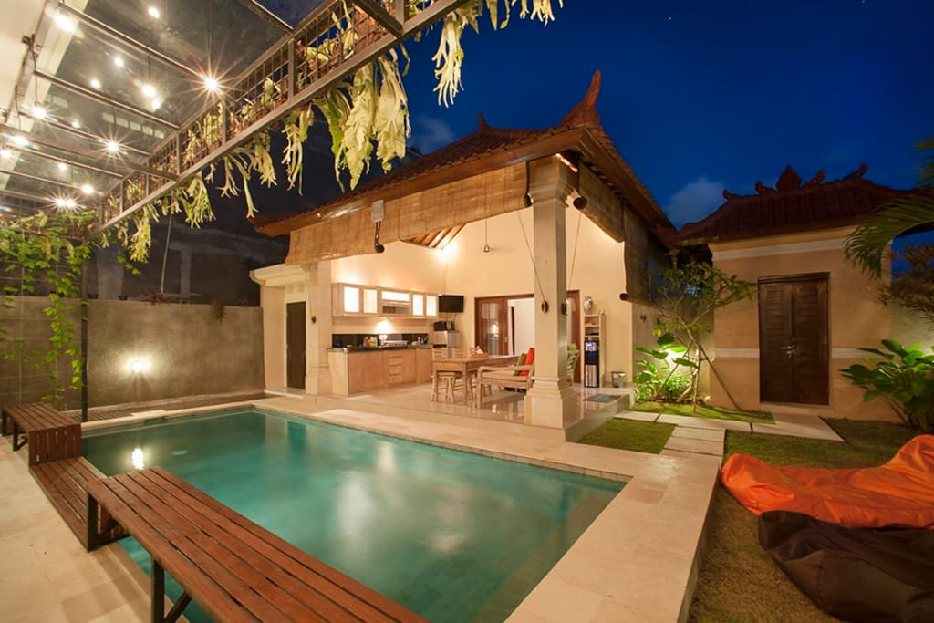 Luxury Seminyak 3BR Villa in Oberoi