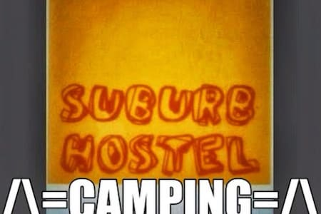 Suburb Camping - Tent