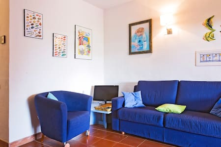The blue house - Marinella - Appartement