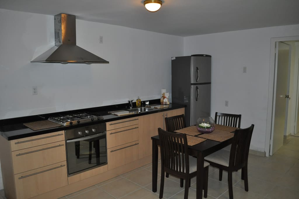 Contemporary kitchen and diner set