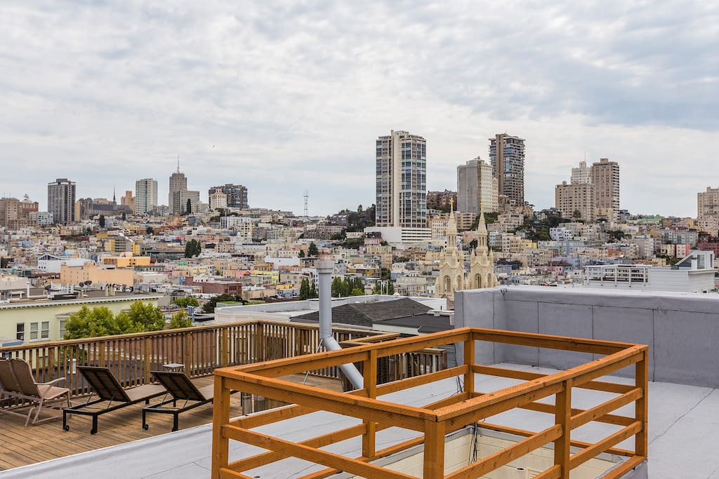 Charming 2 BR Flat in North Beach