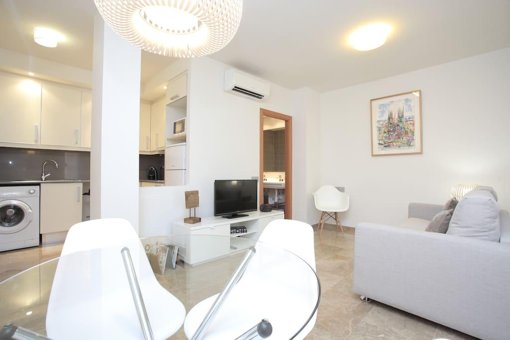 Exclusive apartment in Gràcia.
