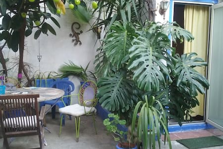 flat with garden,Appart avec patio,piso con patio - Apartament