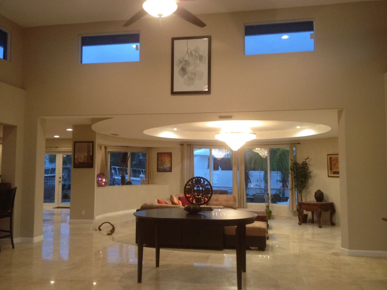 Welcome to our home... Views of Inter Coastal Waterway and Private Pool