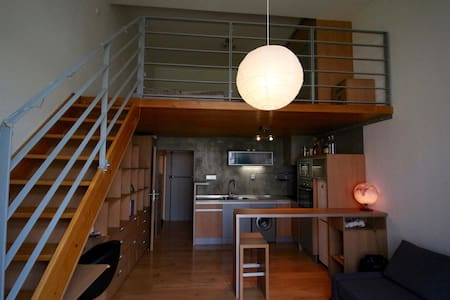 Loft apartment with terrace. 5m to the centre. - Prague - Other