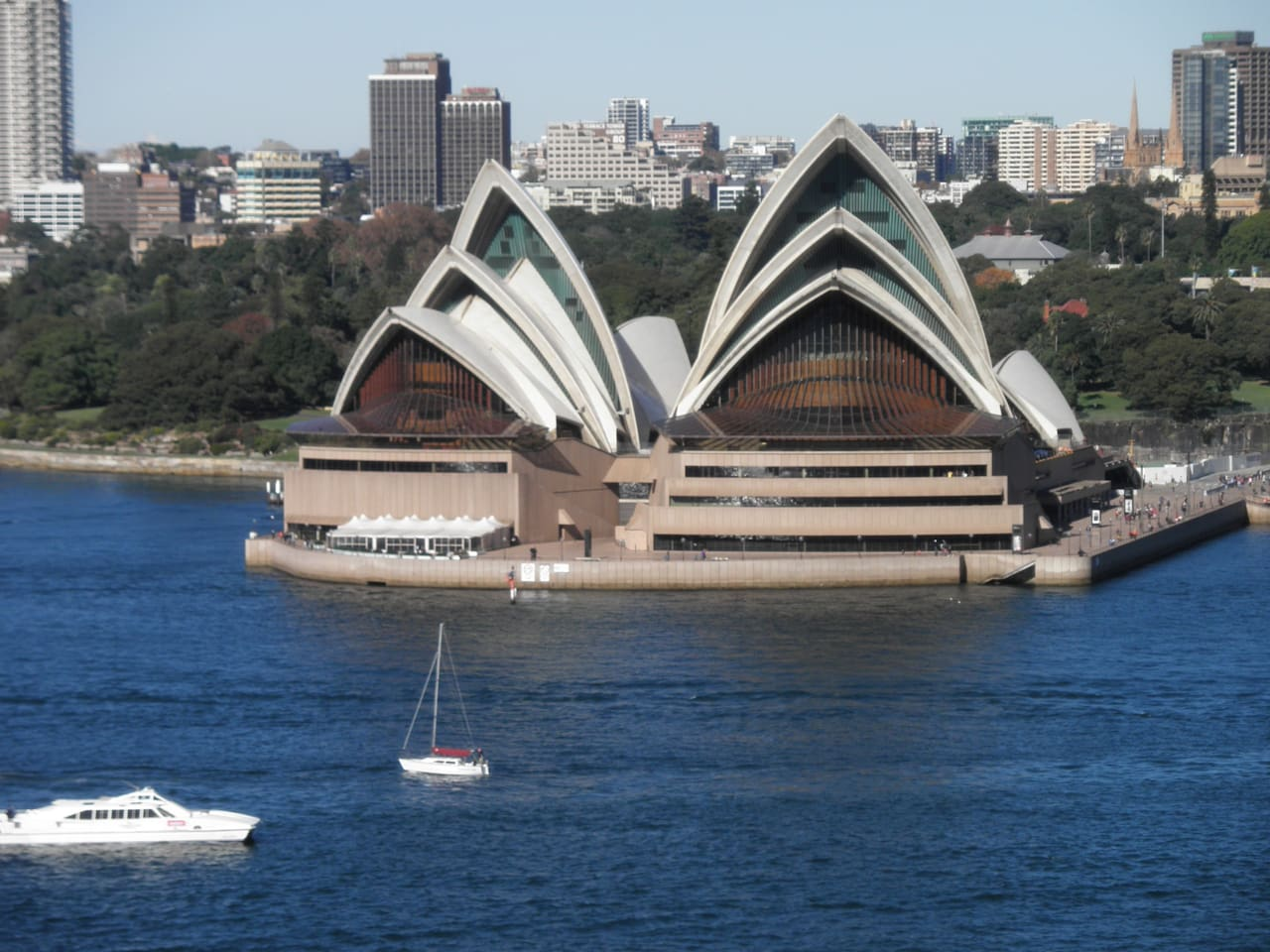 Opera House from balcony