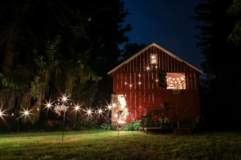 The Barn at Night (Photo credit: Matt Dayak)