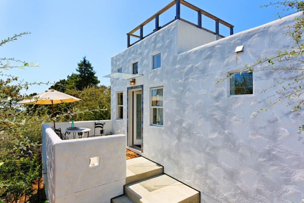Spanish View Garden Cottage