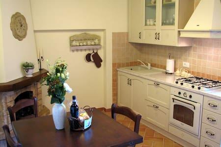 Cosy house in village near Siena - Civitella Marittima - Rumah