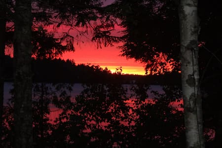 Lakeside Cottage - Downeast Maine - Northfield - Cabin
