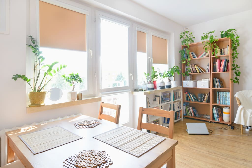 Homey apartment in northern Poznań!