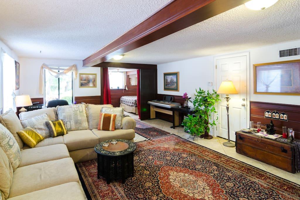Beautiful Living Room Sanctuary