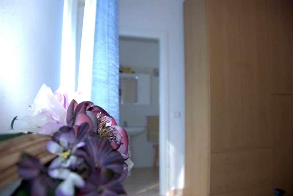 La camera orchidea con bagno interno