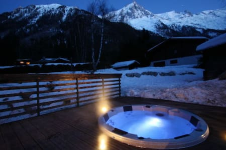 Boutique catered Chamonix chalet