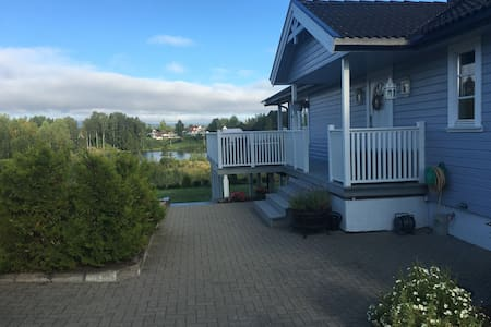 Modern house with lake view - Elverum - House