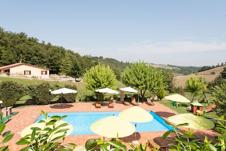 Flat with pool in Umbria - Tuscany - Fabro - Apartment