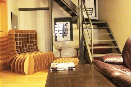 Cozy bedroom in a loft, el Raval.