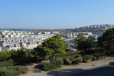 Fine apartment among Galille hills - Yokneam