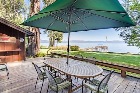 Two Lakefront Homewood Cabins - Kisház