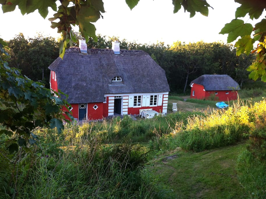 Classic Danish summer cottage