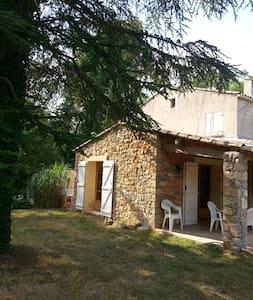 Provence: maison à Entrecasteaux  - Entrecasteaux - House