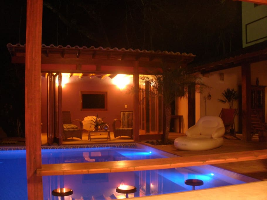 Cool house with pool in Paraty (ac)