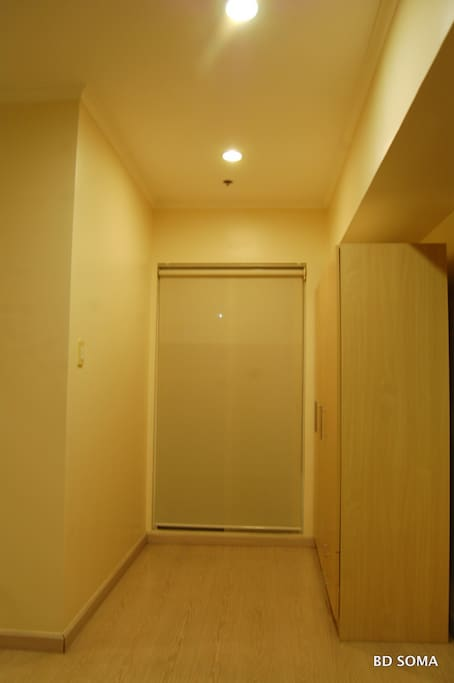 Part of the Master bedroom leading to the balcony