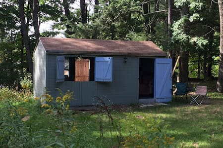 Quiet cabin close to Portland, lakes, coast, hikes - Gorham - Cottage