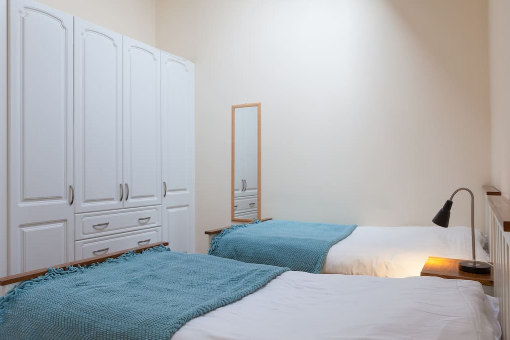 Bedroom 2 - with wardrobes