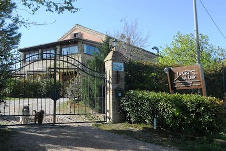 B&B Casa sul Colle-Rm 3: Pomegrante - Monterubbiano - Bed & Breakfast